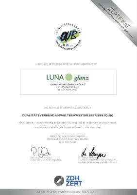 QUB - Luna Glanz GmbH & Co KG - Professionelle Gebäudereinigung München, Facility Management München